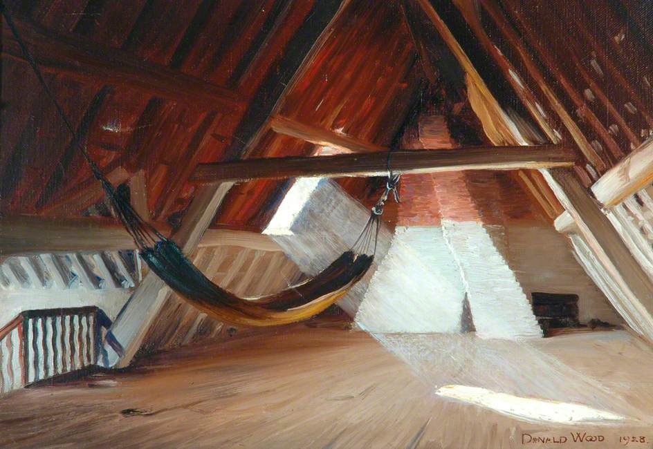 Attic with Hammock