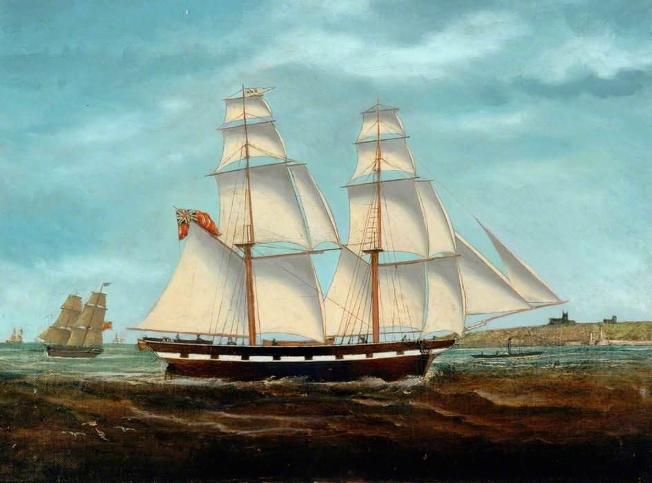 'Ann' Brig off Whitby