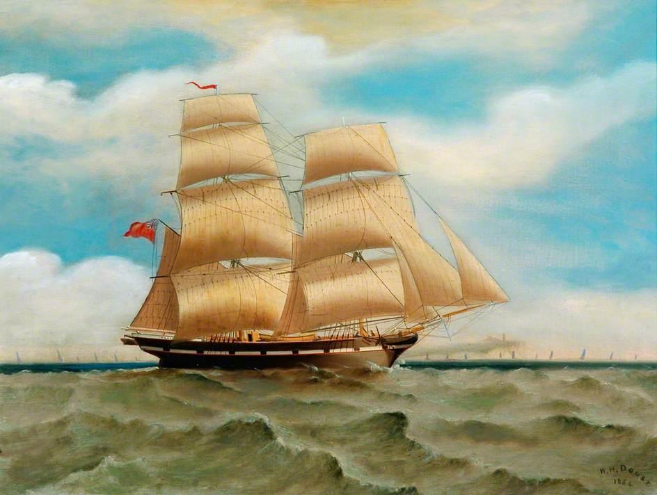 'Mary' off the Coast