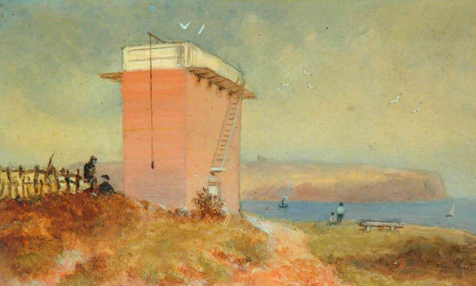 Water Tower on Whitby West Cliff