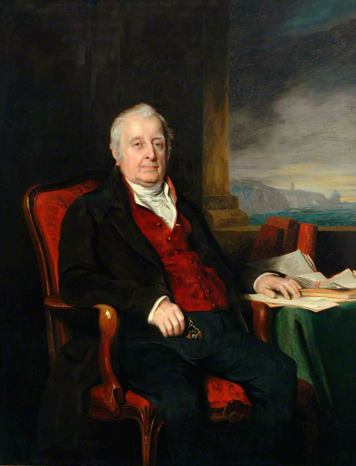 Abel Chapman of Woodford (1752–1849), an Elder Brother of the Trinity House and a Treasurer of St Thomas's Hospital