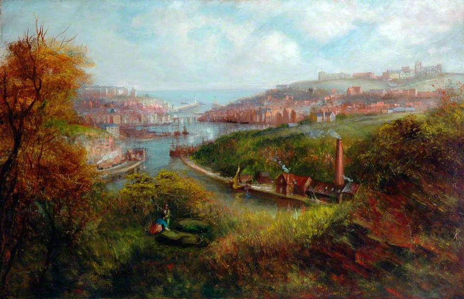 Whitby from Larpool