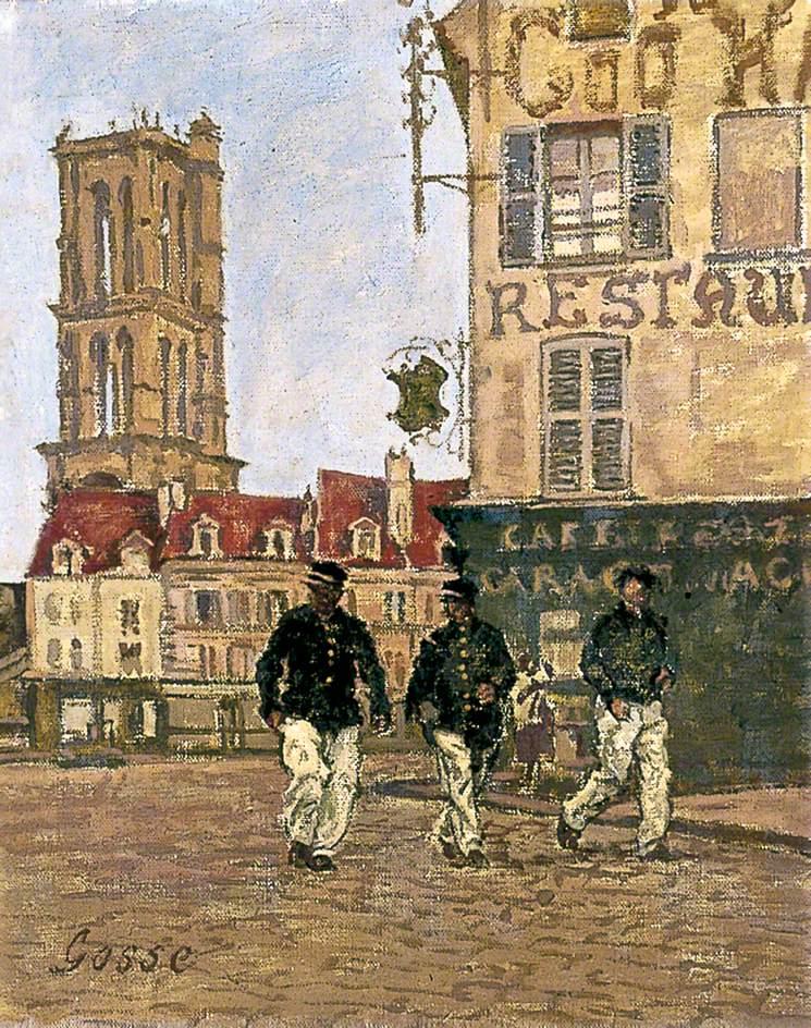 The Rural Postmen, Mantes-la-Jolie