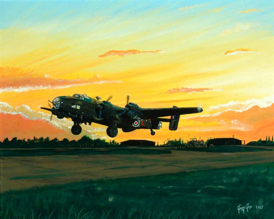 Heavily Laden', Halifax Mk111
