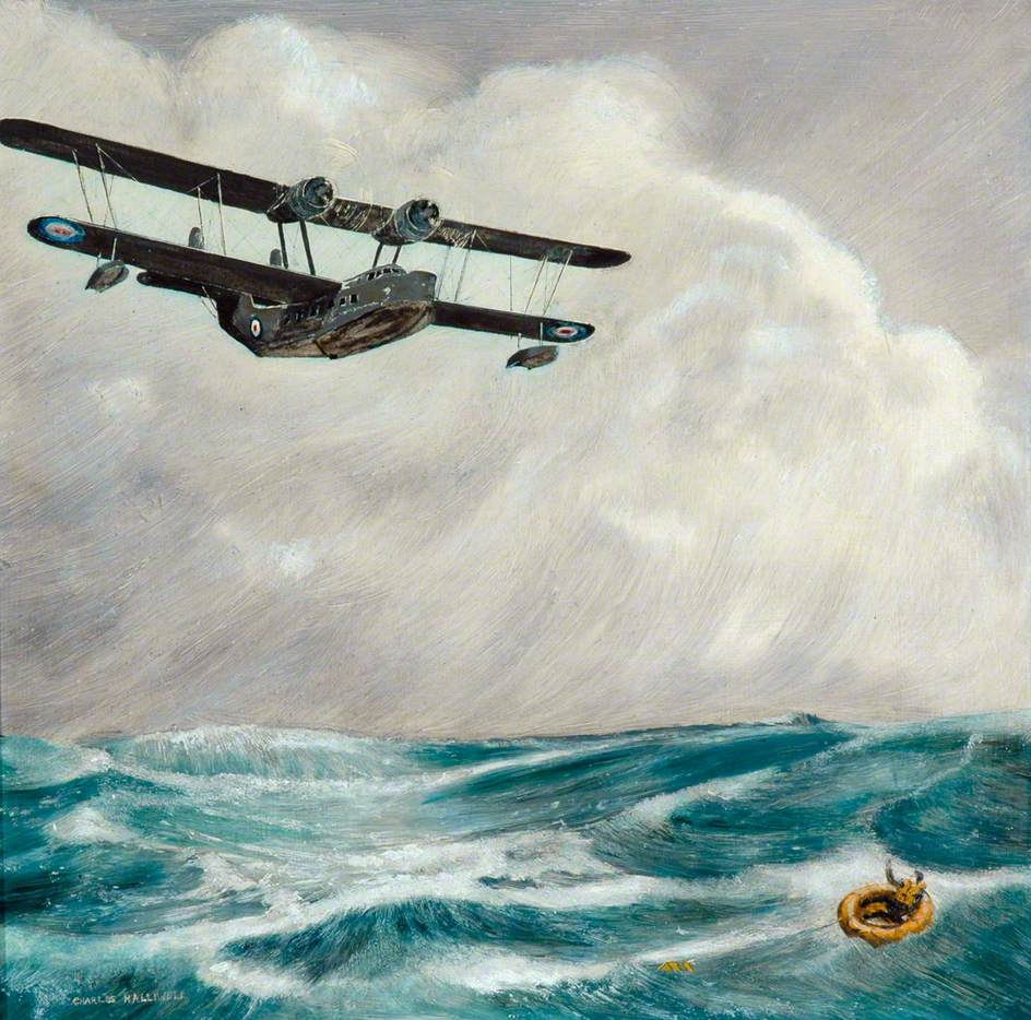 Supermarine Stranraer in Flight