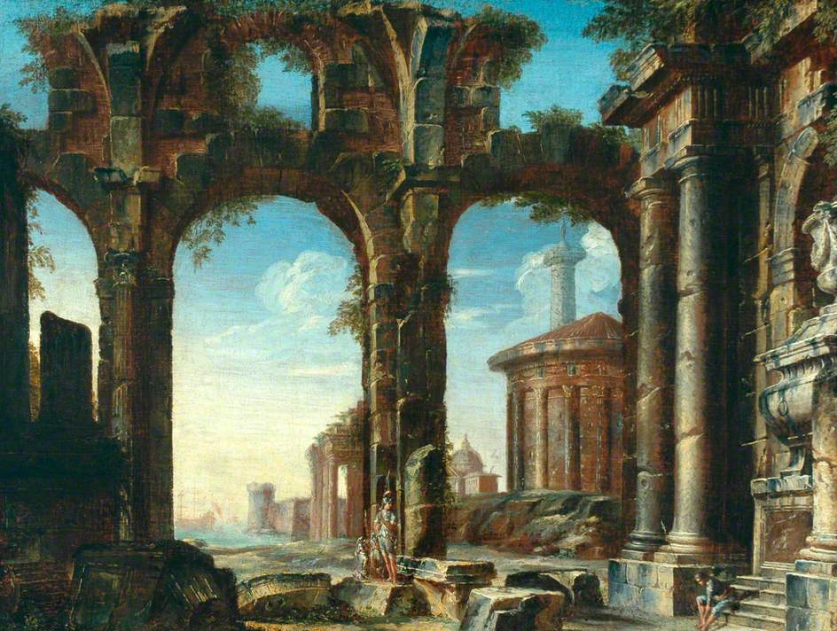 Figures in Classical Ruins
