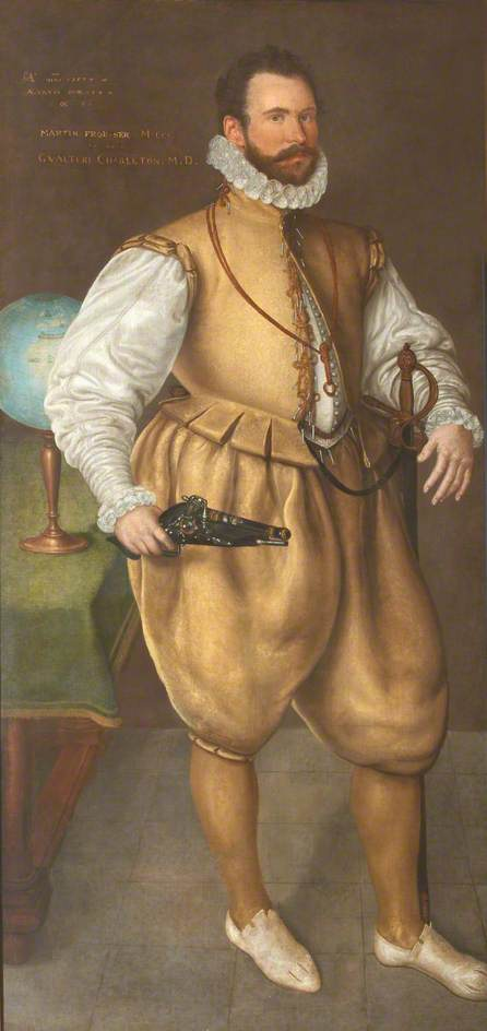 Sir Martin Frobisher (1535?–1594)