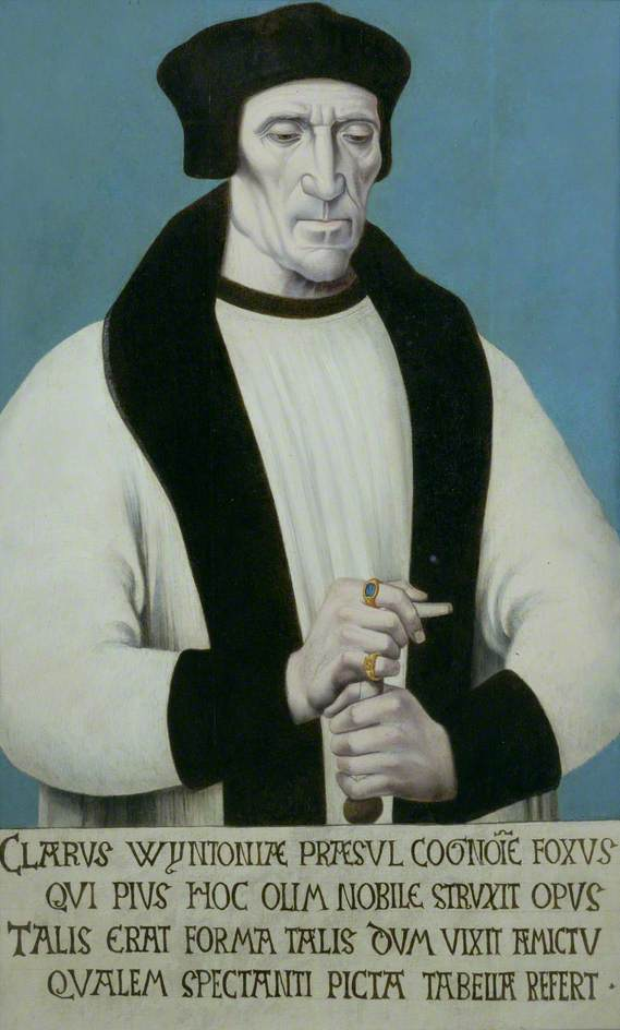 Richard Foxe (c.1448–1528), Bishop of Winchester, Lord Privy Seal to Henry VII and Henry VIII and Founder of Corpus Christi College, Oxford