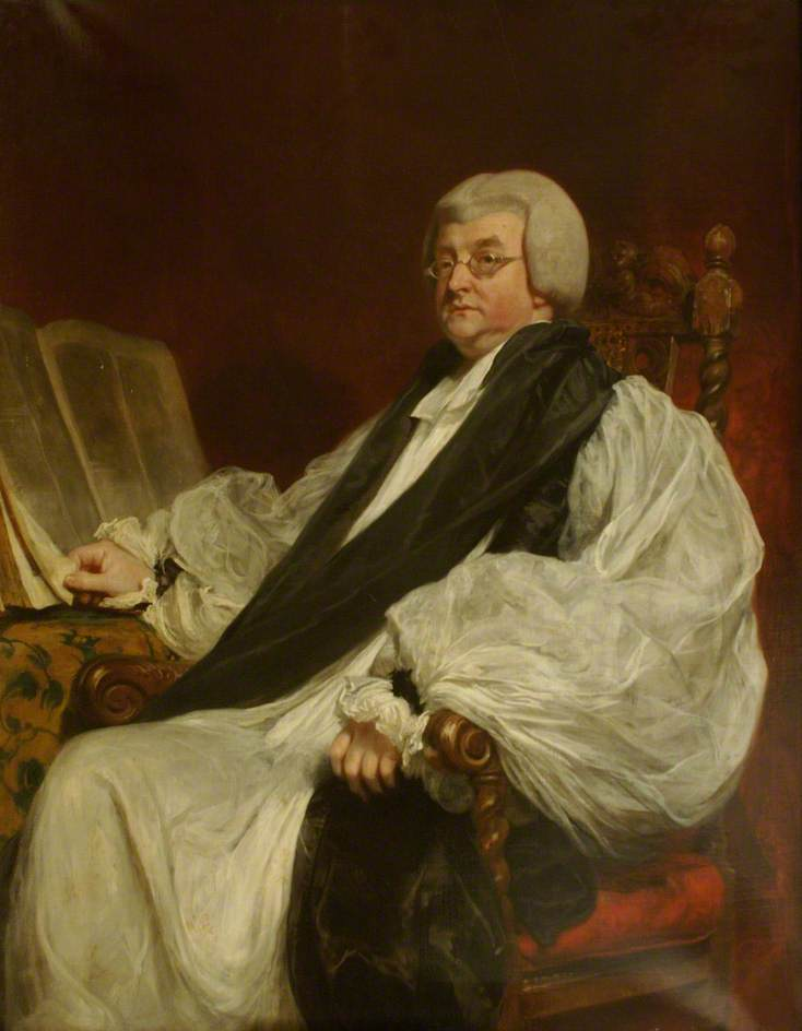 Thomas Burgess (1756–1837), Bishop of St David's, Later of Salisbury