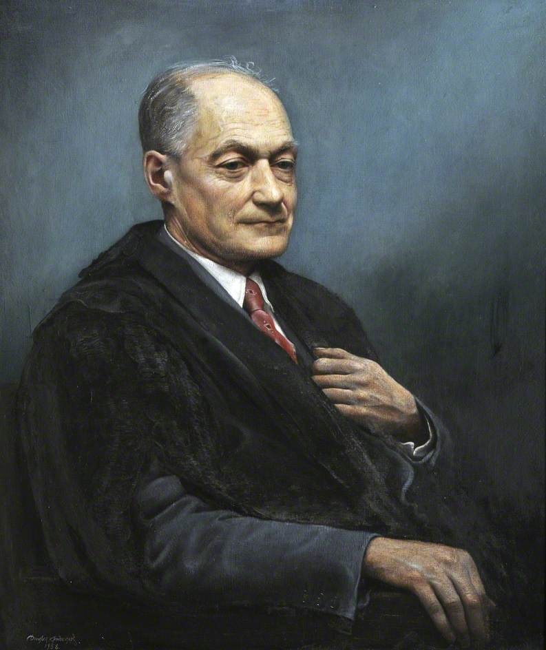 Professor Sir Cyril Hinshelwood (1897–1967), Nobel Laureate