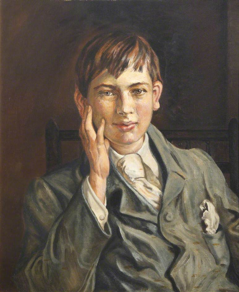 Mr Meyerstein as a Young Man