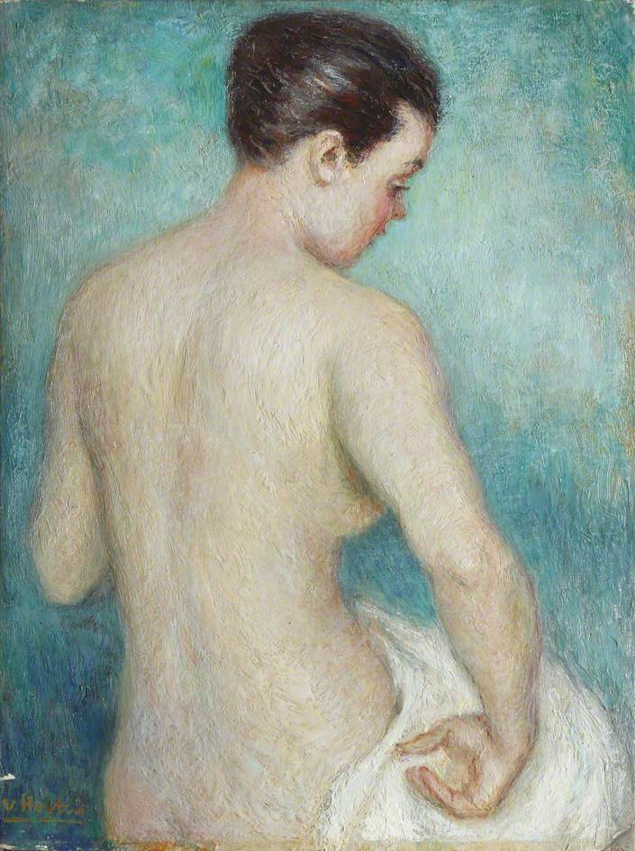Nude with a White Towel