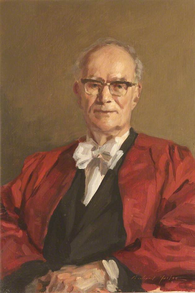 Burke St John Trend (1914–1987), Later Lord Trend, Rector (1973–1983)