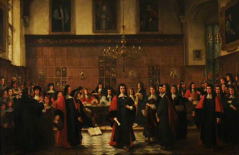 The Expulsion of the Fellows, 1687