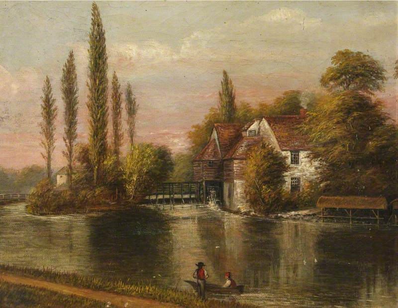 Iffley Mill on the River