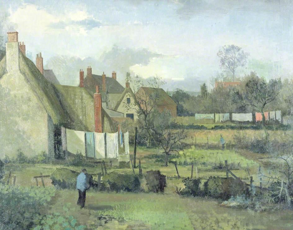 Gardens in Wytham Village
