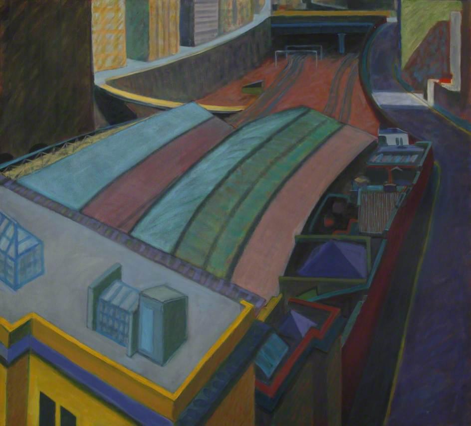 Turnmill Street: Station Roofs