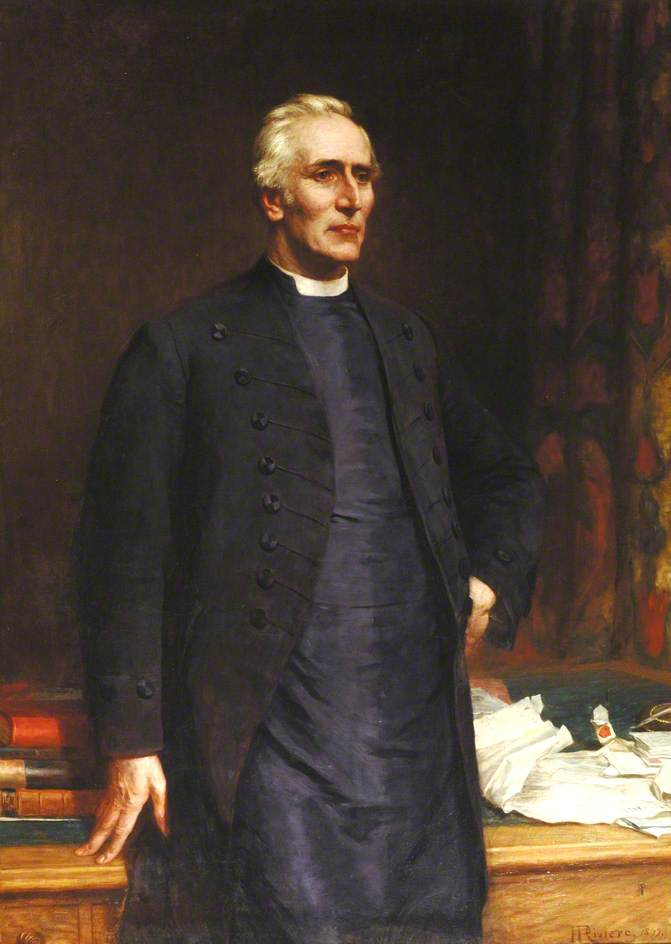 John Percival (1834–1918), President of Trinity College and Bishop of Hereford