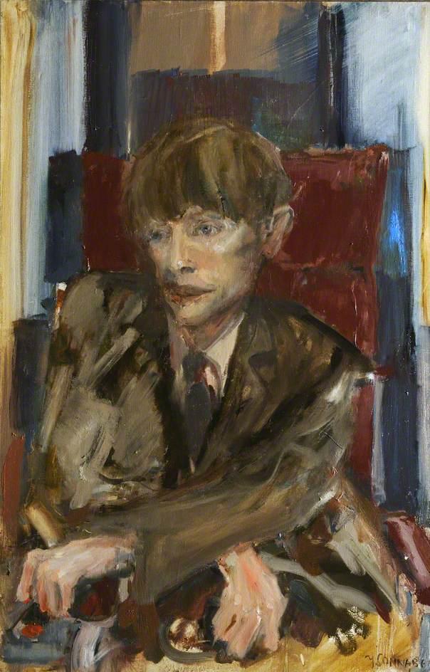 Portrait Study of Stephen William Hawking (1942–2018), CH, CBE, FRS, FRSA