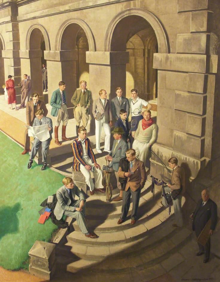 Conversation Piece: Worcester College, Oxford