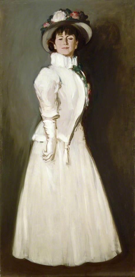 The White Ruff (Anne Estelle Rice, 1877–1959, Artist)