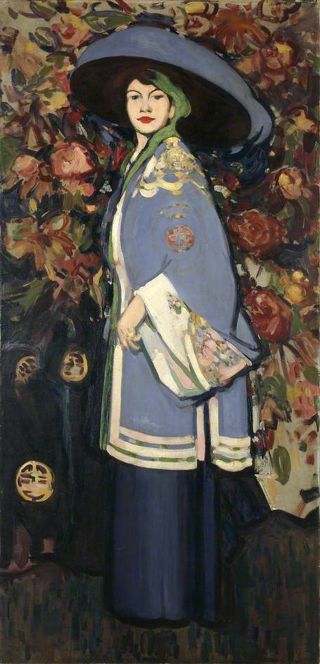 Le manteau chinois (Anne Estelle Rice, 1877–1959, Artist)