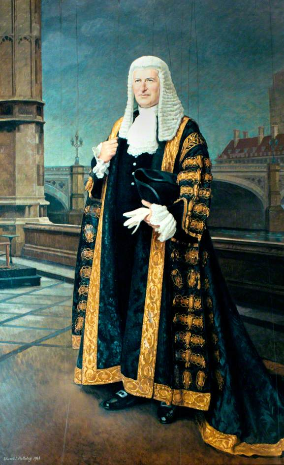 The Right Honourable Sir Harry Braustyn Hylton-Foster, Speaker