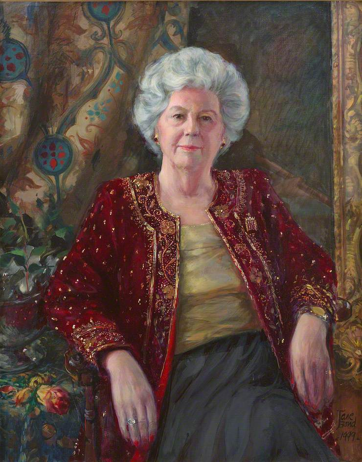 The Right Honourable Betty Boothroyd, MP