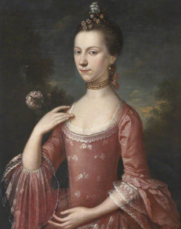Portrait of a Lady in Pink