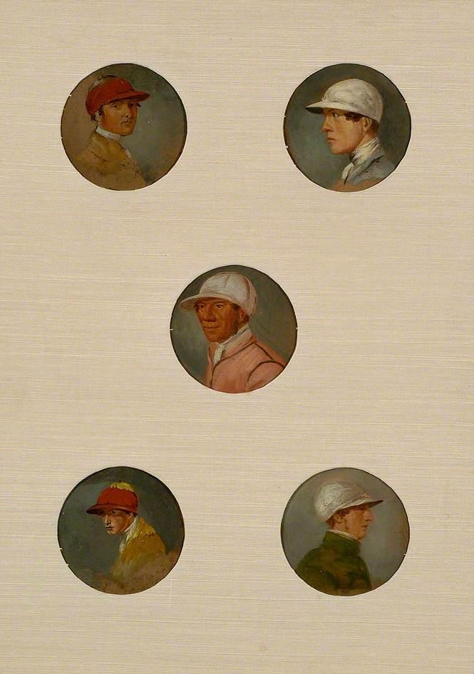 Studies of Sixteen Jockeys I