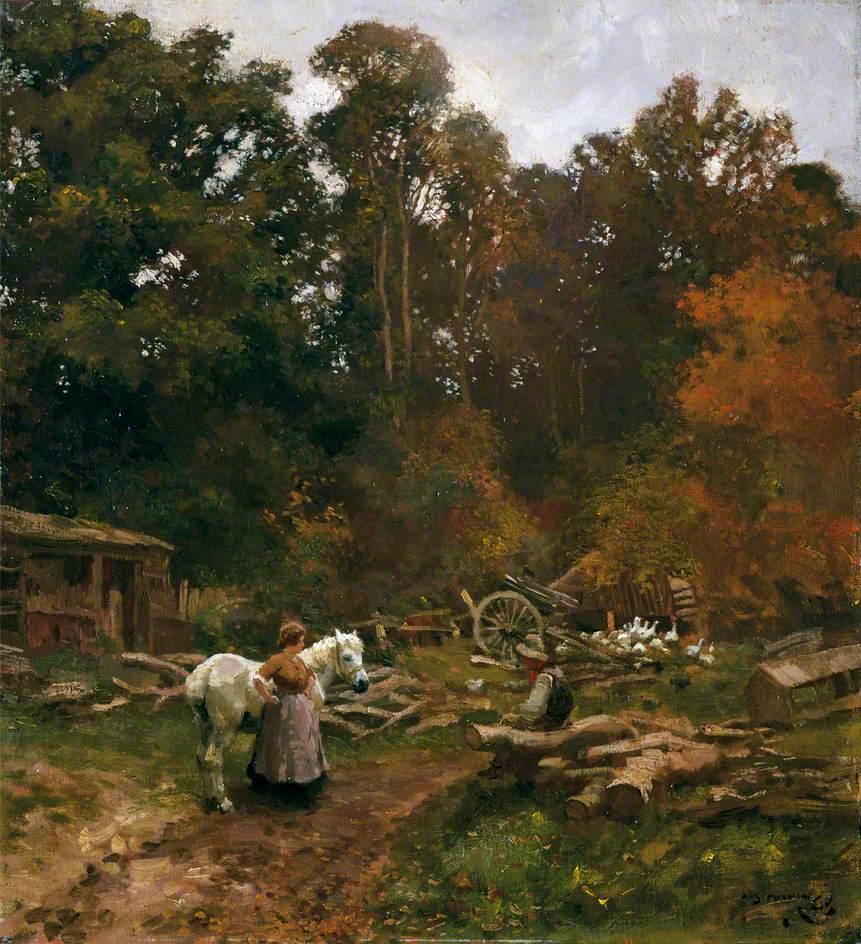 Landscape at Crostwick, Norfolk