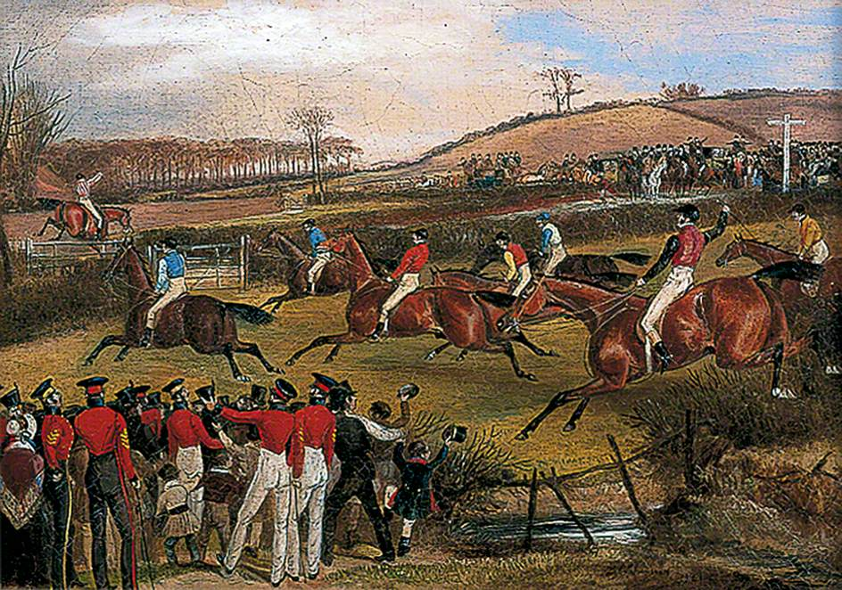 Windsor Grand Military Steeplechase, 1840