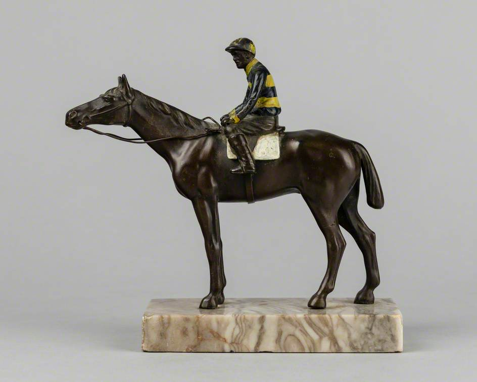 Horse and Jockey in John Penny's Colours
