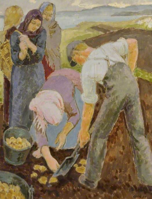 Donegal Potato Pickers