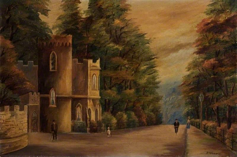 Uphill Lodge Gate