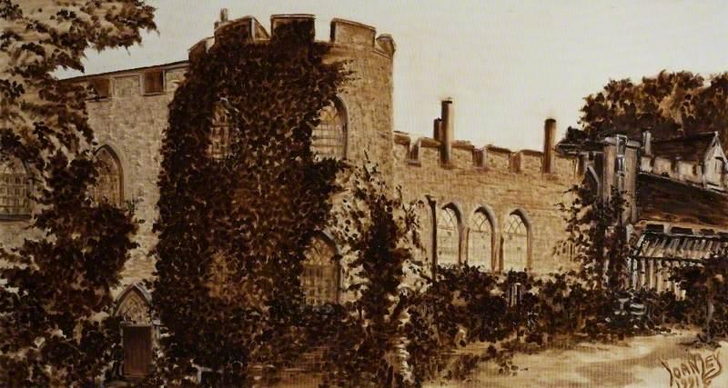 Taunton Castle, 1910