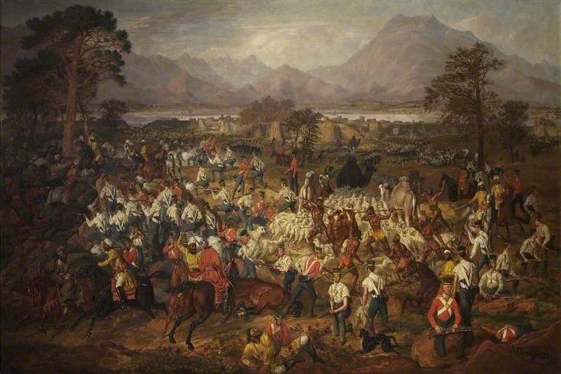 The Siege of Jellalabad, 12 November 1841 to 13 April 1842