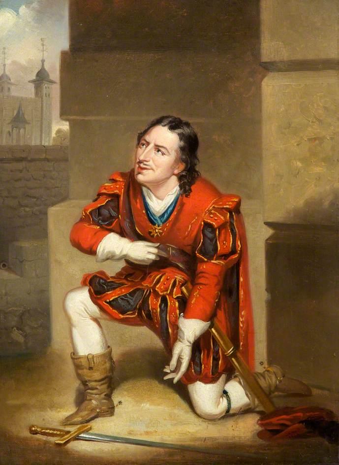 Edmund Kean as Gloucester in 'Richard III' by William Shakespeare
