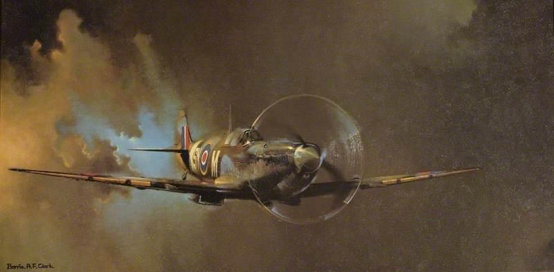 Vickers Supermarine Spitfire Mark VB of 243 Squadron