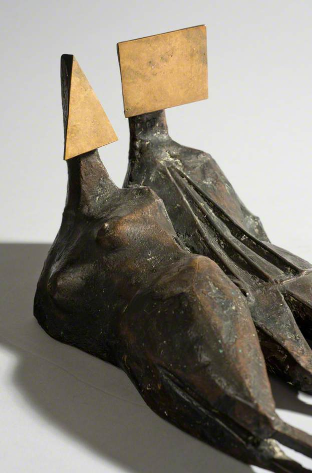 Maquette II: Two Reclining Figures