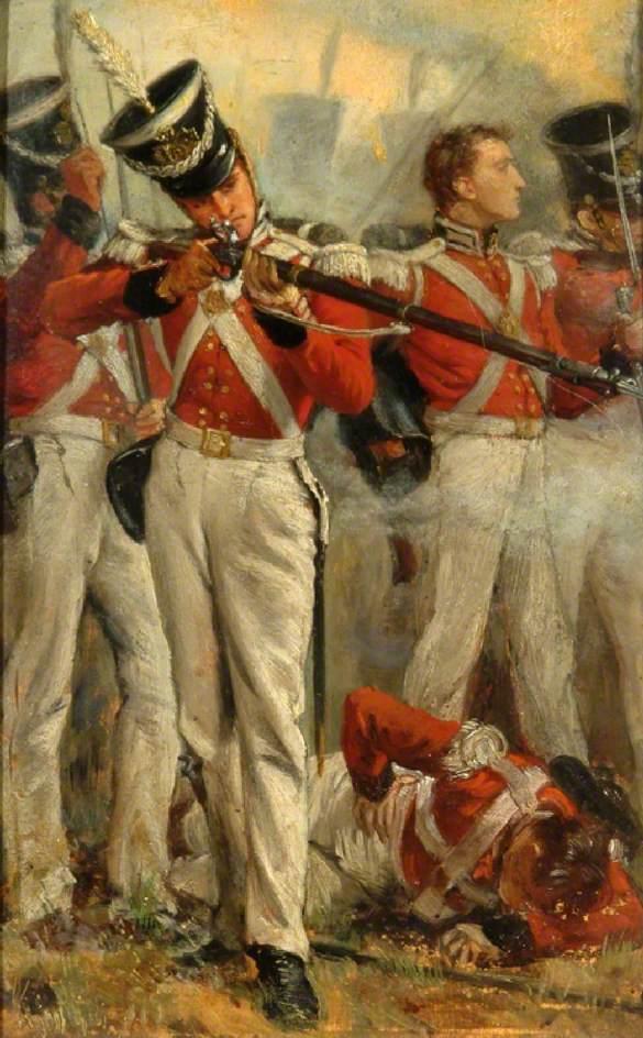 The Queen's (Second) Royal Regiment of Foot, c.1830
