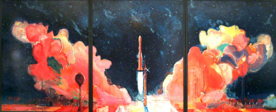 Launch of the Ariane Rocket Carrying UOSAT