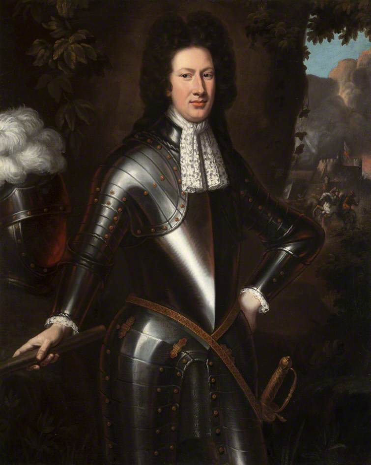 Portrait of an Unidentified Man in Armour
