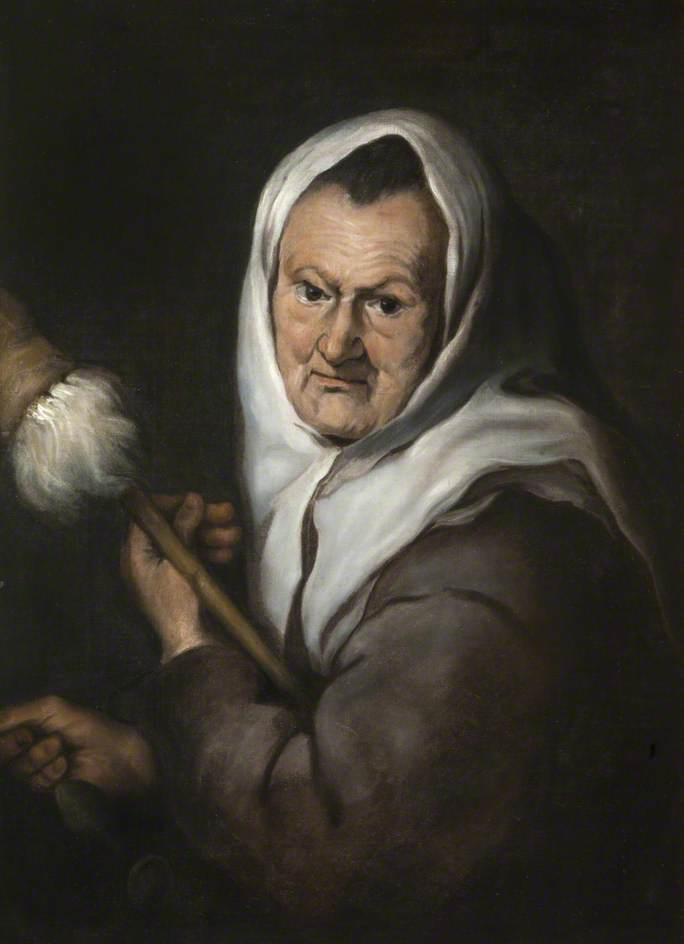 Woman with a Distaff