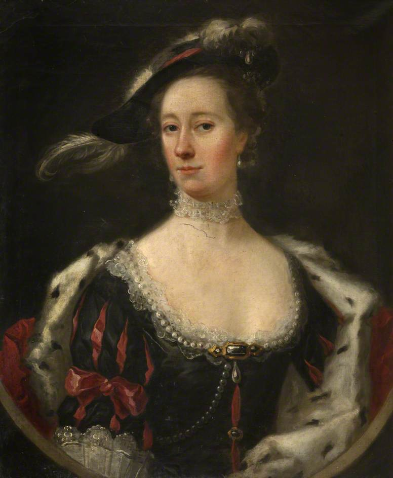 Theresa Conyers (d.1778), Wife of 5th Earl of Traquair