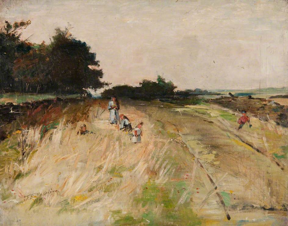 Countryside with Figure Studies