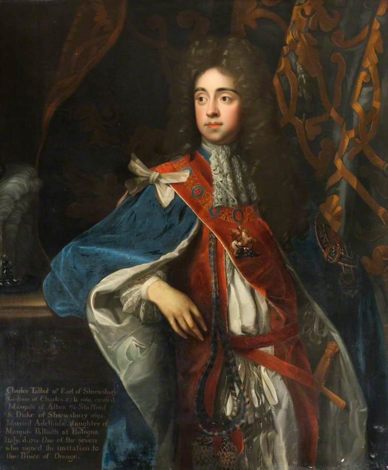 Charles Talbot, Duke and 12th Earl of Shrewsbury (1660–1718)