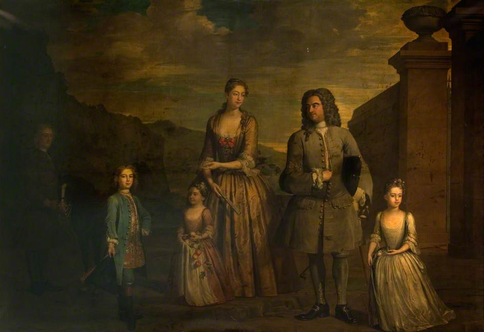 John Chetwynd, 2nd Viscount Chetwynd and Family