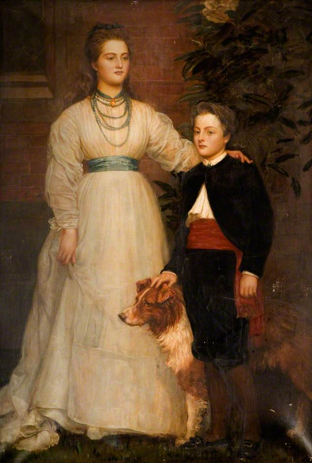 Theresa Susey Helen Talbot, Later Marchioness of Londonderry and Charles Henry John, Viscount Ingestre (1860–1921)