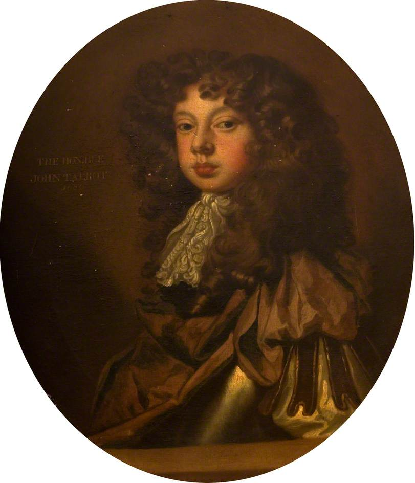 The Honourable John Talbot, Younger Brother of Charles, Duke and 12th Earl of Shrewsbury (1664–1685/1686)